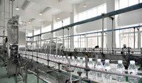 Complete mineral and pure water bottling project/turn key line