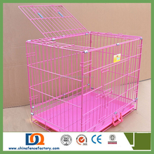 Wholesale cute Pink pet Carrier Bag outdoor carrier/Easy-carry Dog Cage 4-0