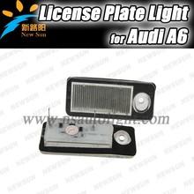 Top quality Factory High brightness OEM design auto led license bulbs 12V led license plate lights for AUDI A6 B5 led tail light