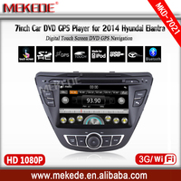 Hyundai Elantra 2014 car dvd free shipping for Sample price wince6.0 system