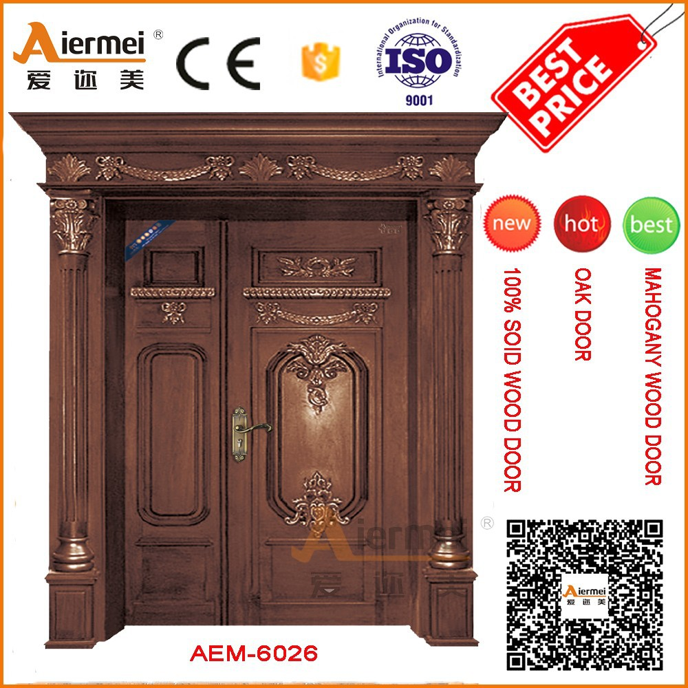 Indian House Door Designs Front Main Double Leaf Wood Entry Door Buy Double