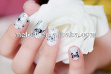 Real nail polish sticker