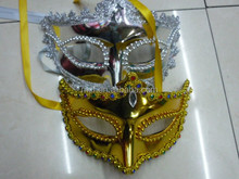Party beautiful carnival feather mask for party decoration MSK180