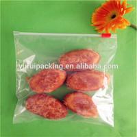 Wholesale hot sale waterproof freezer plastic grip seal slider bag