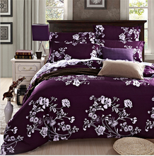 Cheap king size wholesale bed sheet luxury polyester reactive flower printed 3d import bedding and bed set manufacturers usa