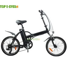 TOP E-cycle electric smallest folding bicycle folding bike for adult