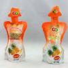 Qingdao manufacturer proudce fruit stand up plastic pouch