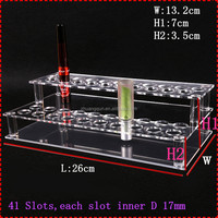 41slot clear acrylic cosmetic makeup organizer for lipstick