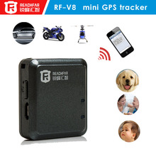 New Mini GPS Navigation Navi Tracker Personal Location for Outdoor Travel Mini Tracker GEO fence RF-V8