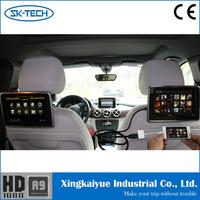 Custom 9inch car central armrest car monitor dvd for BMW X5