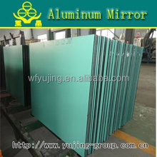 top quality clear aluminum mirror max size 3300*2440mm