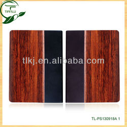 Natural Folder Wooden Bamboo Case For Ipad 4,3,2 Customized