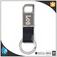Fcatory direct selling leather key chain holders
