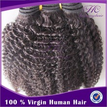 2014 New Products On Market Good Quality Virgin Remy 14 Inch Afro Kinky Hair Extensions For Black Women