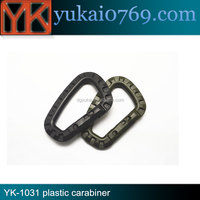 Wholesale colorful Plastic Quick Link Carabiner Spring Snap Hook Clip