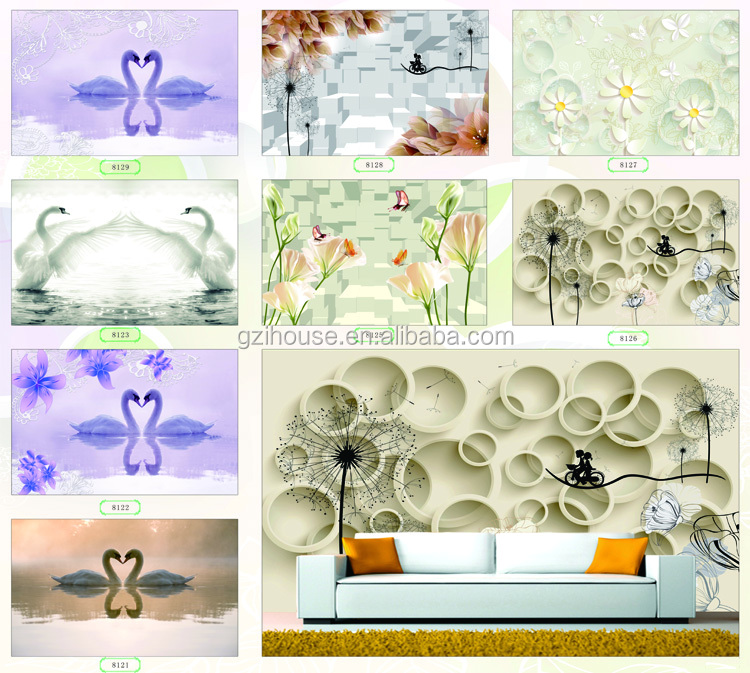 Printable 3d Wallpaper Wall Murals For Decors Buy 3d Wallpaper