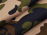 100% cotton camouflage printing fabric