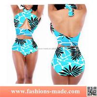 Light Blue Beachwear for Women Wholesale