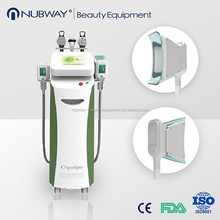 beauty machine cool shaping Cryo therapy Slimming machine/ beauty equipment cool shaping machine