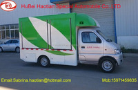 Mobile kitchen Service Cart/4 Wheels Electric Food Truck for India