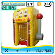 2016 Cheap inflatable money machine booth, inflatable products cash photo booth & Catch money,Inflatable money booth