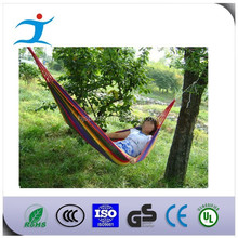 Double Fabric Hammock with Steel Stand