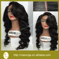 150 Density Peruvian Full Lace Human Hair Wigs For Black Women Virgin Lace Front Peruvian Body Wave Wigs With BabyHair