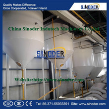 Best selling Continuous Type Oil refinery , vegetable oil refinery plant, crude oil refinery plant for making cooking oil