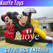 inflatable mickey mouse bouncer, kids jumping trampoline,play house bouncy castle