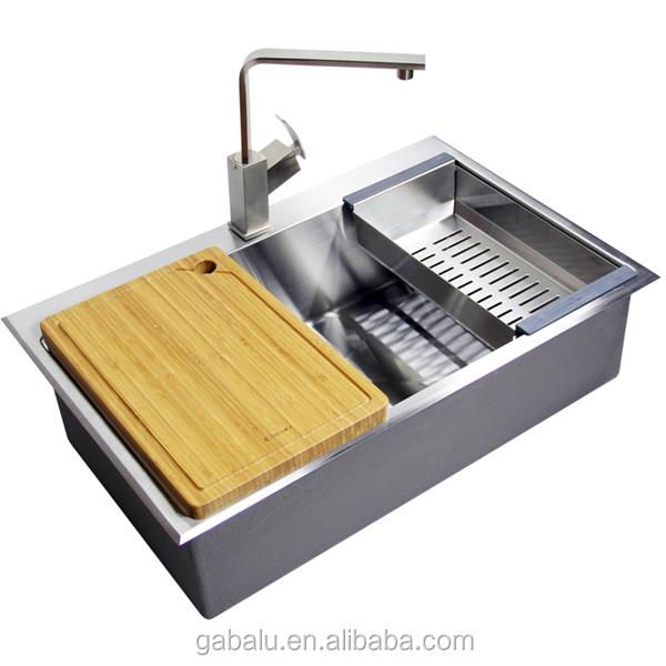 Best Undermount Stainless Steel Sink : Best Quality Undermount 304 Stainless Steel Kitchen Sink 6159d - Buy ...