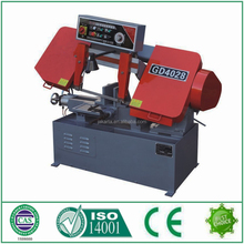 First choice GD4028 metal cutting band saw price from machine manufacturers