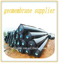 Waterproof black HDPE Geomembrane sheet for pond liner