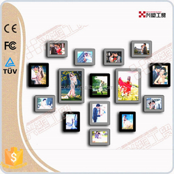 Xingsu factory price home decorative led light photo frame