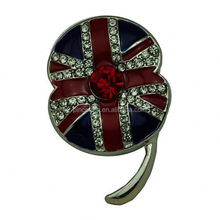 custom Factory directly rigant factory british legion poppy brooch