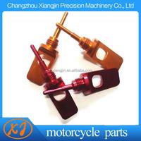 cnc aluminum motorcycle spare part oil dipstick