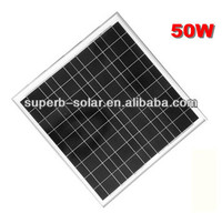 50W polycrystaiilne solar panel solar module