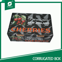 Fruit packaging box cherris cartons corrugated box