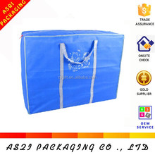 polypropylene long handle durable storage jumbo bag size for packaging quilt