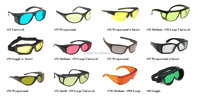 455+532+633 CE certified protective glasses BGR