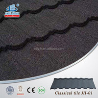 White and Black Plain Harvey style Steel Plate Material metal roofing tile