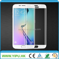 2015 9h hardness tempered glass screen protector for samsung S6 edge