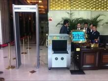 shop Infrared scanning equipment anti-theft metal detector Walk Through Gate