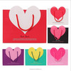 Heart Paper Gift Bags Shopping Sales Tote Bags
