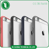 TPU + PC Hybird Bumper Case for iPhone 6s, Transparent Bumper Case for iPhone 6s Bumper Case Clear Back Cover for iPhone 6s