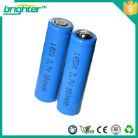 400mAh efest battery 14500 3.7v rechargeable