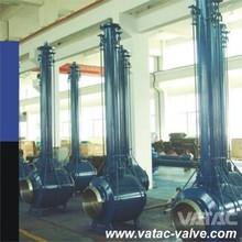 CL900/900#/900 LBS extended stem buried full weld Ball Valve