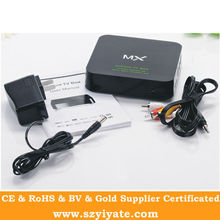 XBMC Set Top Box Amlogic 8726 MX Android 4.0 Smart Tv Box Support IPTV,Youtube,XBMC Google Play store