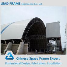 Top Quality Steel Structure Building Light Steel Frame For Barrel Coal Stroage