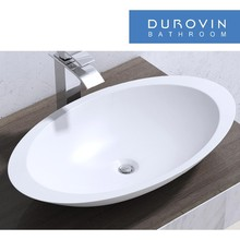 oval artificial stone Bathroom Sink
