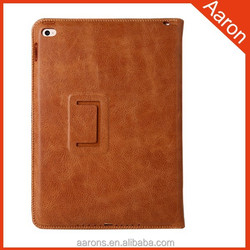 Top quality grain leather tablet case for ipad cover for ipad air cover